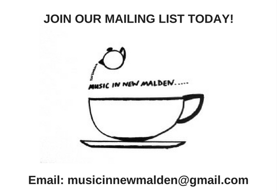 JOIN OUR MAILING LIST TODAY!